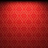 Illuminated fabric wallpaper — Photo