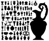 Ancient vases (vector) — Stock Vector