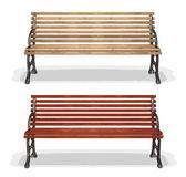 Houten bench (vector) — Stockvector