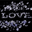 Royalty-Free Stock Imagem Vetorial: Vector Valentines Day diamonds