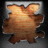 Plancha de madera — Foto de Stock