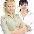 Young business women — Stock Photo