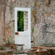 Ruines and door - Stock Photo