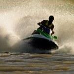 Jet ski action — Stock Photo