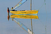 Mozambican dhow — Stock Photo