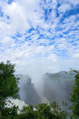Victoria waterfall, Zimbabwe — Stock Photo