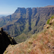 Drakensberg mountains - Stock Photo