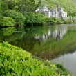 Kylemore Abbey Castle - ストック写真
