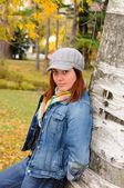 Attractive girl portrait — Stock Photo