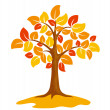 autumn tree — Stock Vector #2915315