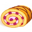 Royalty-Free Stock Vector Image: Swiss-roll illustration