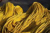 Pilha de corda — Fotografia Stock