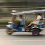 Tuk Tuk in Bankgkok, Thailand — Stock Photo #2916323