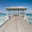 Beautiful pier in Thailand — Stock Photo