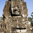 Ancient statue in Angkor Wat, Cambodia — Stock Photo