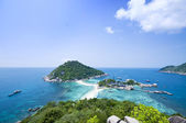Ko Nangyuan islands in Thailand — Stock Photo