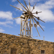 Foto Stock: Windmill, Canary Islands