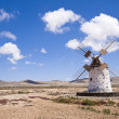Windmill, Canary Islands - Stock Photo