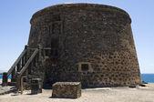 Toston el castillo, kanárské ostrovy — Stock fotografie