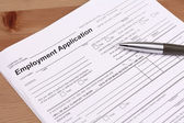 Application for Employment — Stok fotoğraf