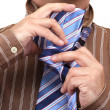 Tie Necktie. It is Easy. Business Styl — Stock Photo #2894214
