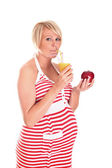 Healthy diet in pregnancy — Stock Photo