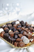 Chocolate and praline — Stock Photo