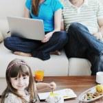 economias da família — Foto Stock