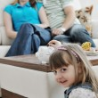 Stock Photo: Family finance