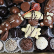 Stock Photo: Chocolate and praline