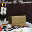 Stock Photo: Chocolate and praline box
