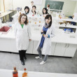 Group in lab — Stock Photo #2997884