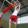 Royalty-Free Stock Photo: Basketball jump