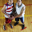 Basketball team spirit — Stockfoto #3078368