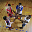Basketball team spirit — Stockfoto #3078380