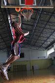 Basketball jump — Stock Photo