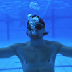 piscina bajo el agua — Foto de Stock   #3173630