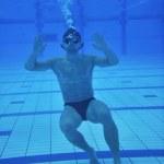 piscina bajo el agua — Foto de Stock   #3173714