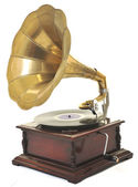 Old gramophone — Photo