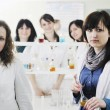 Group in lab — Stock Photo