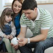 Family finance — Stock Photo