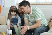 Familie finanzen — Stockfoto