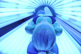 Solarium treatment — Stock Photo