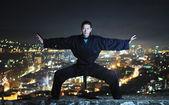 Ninja warrior — Stock Photo
