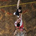 Magic basketball — Stock Photo #4342433