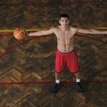 Magic basketball — Stock Photo #4342442