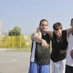Basketball sport trauma injury — Stock Photo #4349950