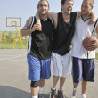 Basketball sport trauma injury — Stock Photo