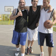 Basketball sport trauma injury - Foto Stock