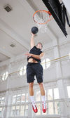 Magic basketball — Stock Photo